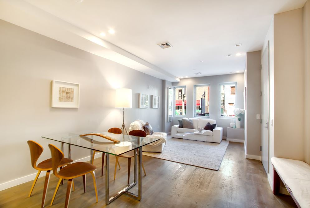 South Slope Brooklyn Duplex Apartment Renovation by Sguera Architecture PLLC, Leo Sguera Architect, Brooklyn, New York.