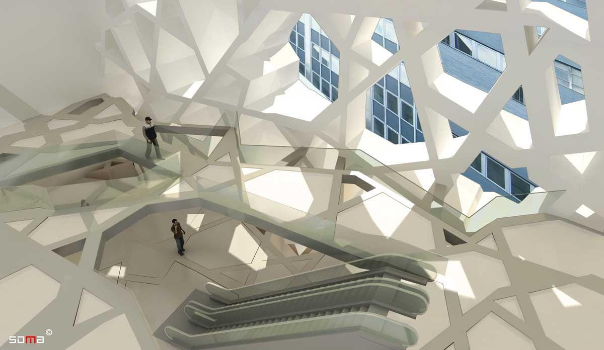 Tribeca penthouse renovation by Sguera Architecture PLLC, Leo Sguera architect Manhattan.