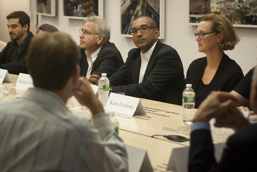 Leo Sguera invited as special guest to roundtable discussion at Columbia University